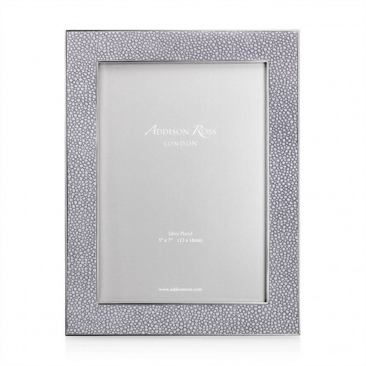 Addison Ross Shagreen Frame Grey 5 Inch By 7 Inch