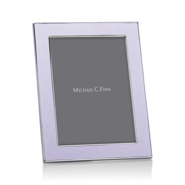 Addison Ross Shagreen Frame Lilac 5 Inch By 7 Inch