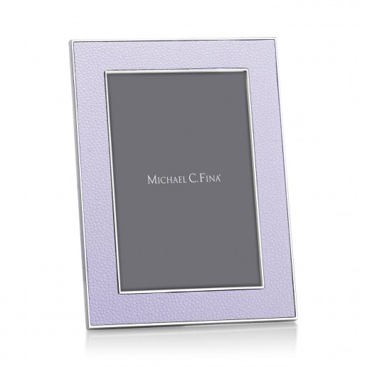 Addison Ross Shagreen Frame Lilac 4 Inch By 6 Inch