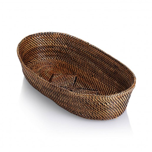 Calaisio Small Oval Bread Basket