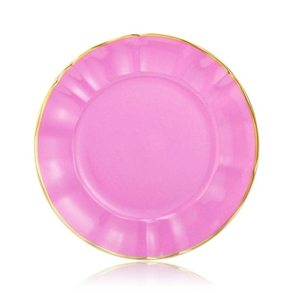 Anna Weatherley Colored Chargers, Pink