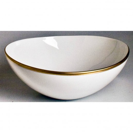 Anna Weatherly Simply Elegant Gold Cereal Bowl
