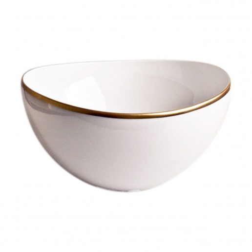 Anna Weatherley Simply Elegant Gold Open Vegetable Bowl