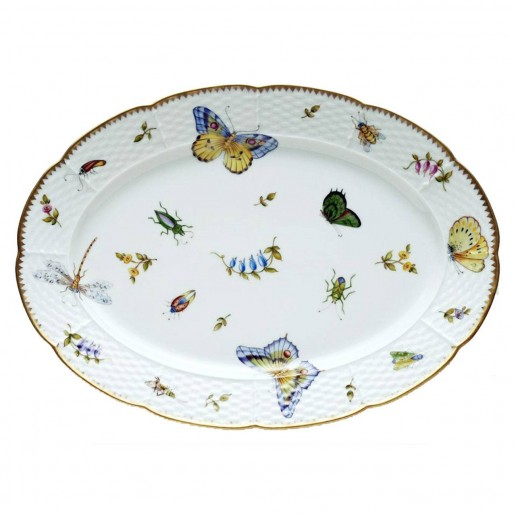 Anna Weatherley Spring in Budapest Oval Platter