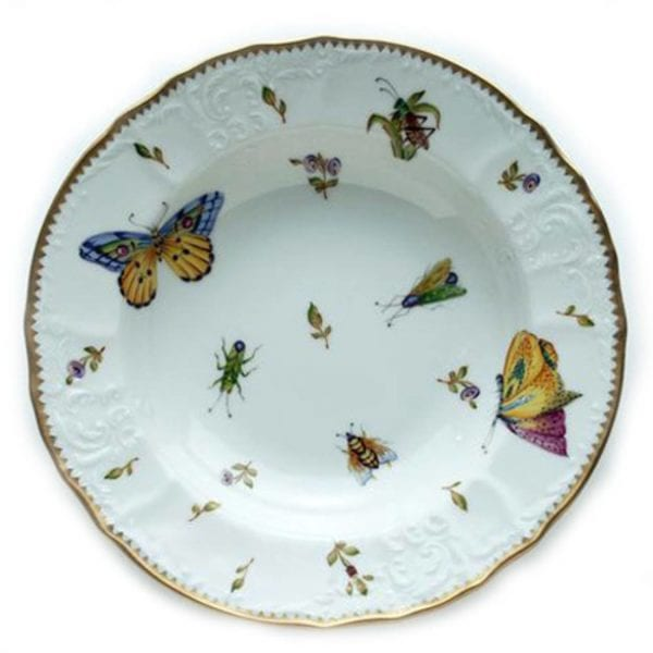 Anna Weatherley Spring in Budapest Rim Soup Bowl