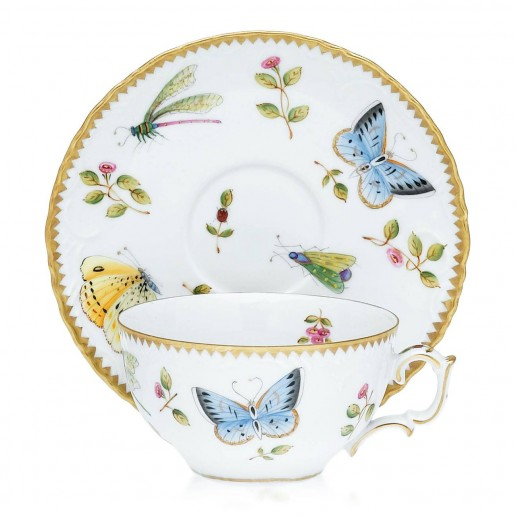 Anna Weatherley Spring in Budapest Teacup & Saucer