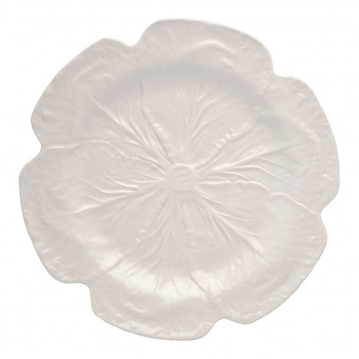 Bordallo Pinheiro Cabbage Beige Charger Plate Set of 2