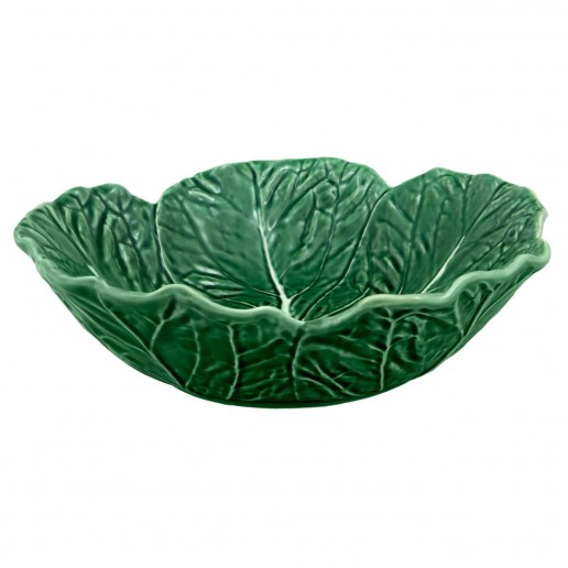 Bordallo Pinheiro Cabbage Green Cereal Bowl Set of 4