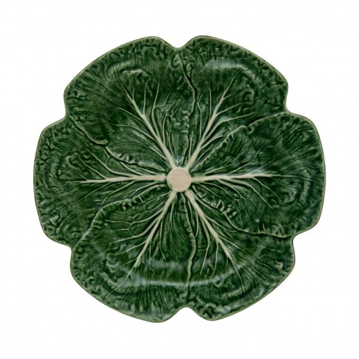 Bordallo Pinheiro Cabbage Green Charger Plate Set of 2