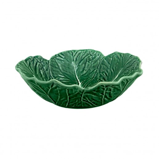 Bordallo Pinheiro Cabbage Green Large Bowl