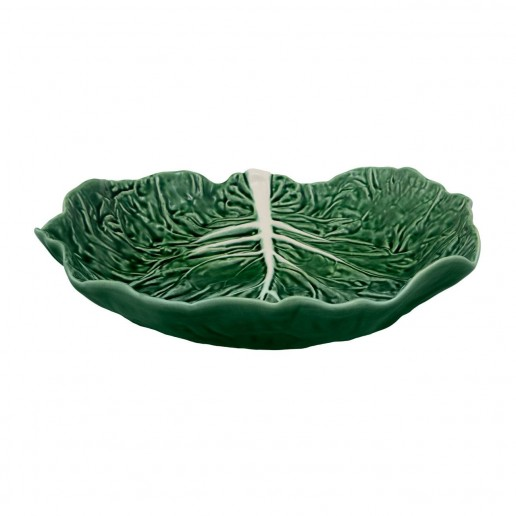 Bordallo Pinheiro Cabbage Green Salad Serving Bowl