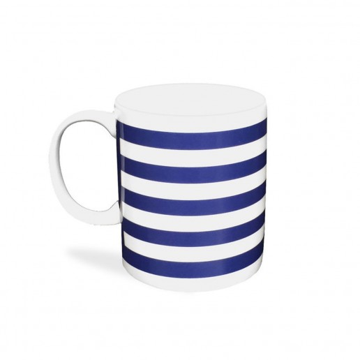 Caskata Beach Towel Stripe Mug