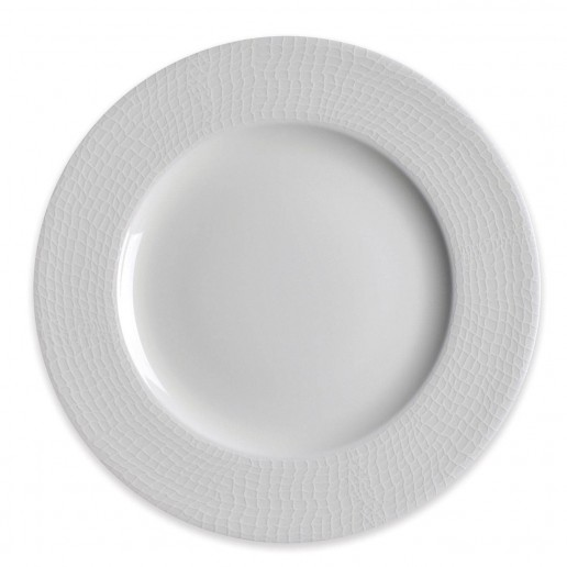 Caskata Catch White Collection Rimmed Salad Plate