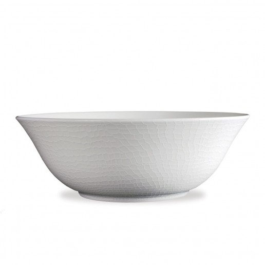Caskata Catch White Collection Medium Serving Bowl