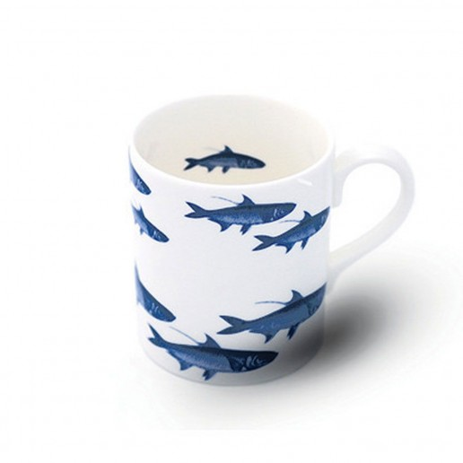 Caskata School of Fish Blue Mug