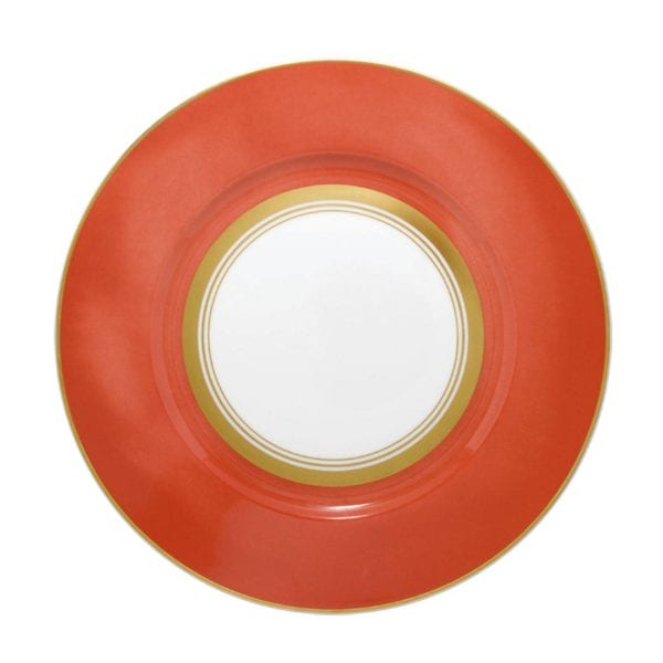 Raynaud Cristobal Coral Wide Rim Dinner Plate