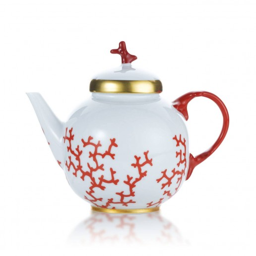 Raynaud Cristobal Coral Tea Pot