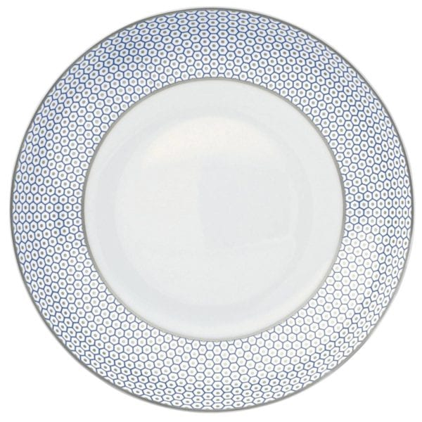 Raynaud Tresor Blue Soup Plate