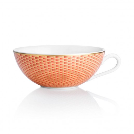 Raynaud Tresor Orange Tea Cup