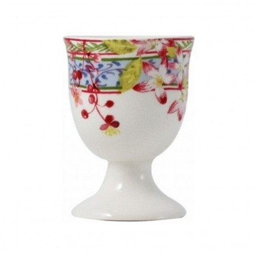 Gien Millefleurs Egg Cup, Set of 2