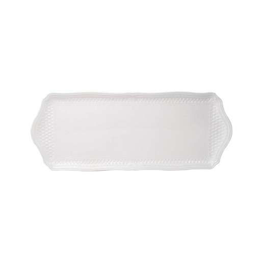 Gien Pont Aux Choux White Oblong Tray