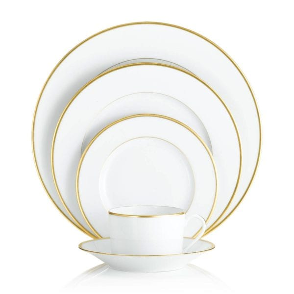 Haviland Orsay Gold Five Piece Place Setting