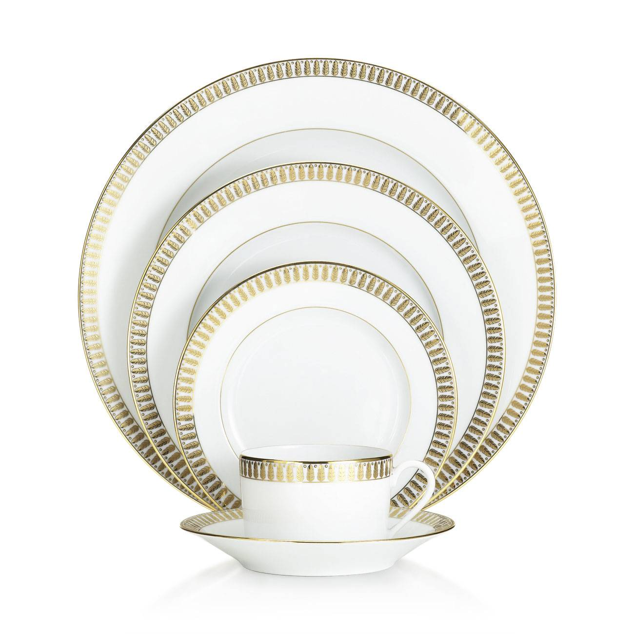 Haviland Plumes Gold Collection