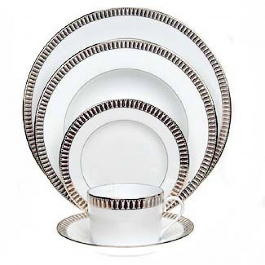 Haviland Plumes Platinum Collection