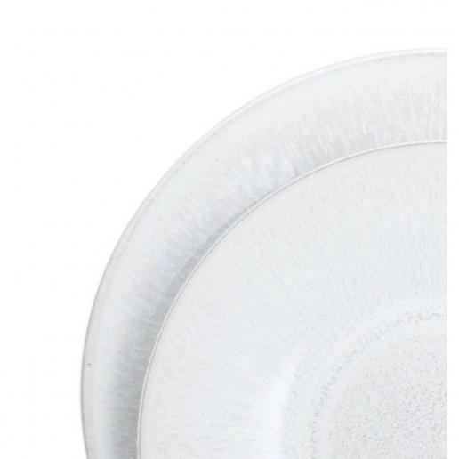 Jars Ceramics Vuelta White Pearl Large D'Oeuvre Dish