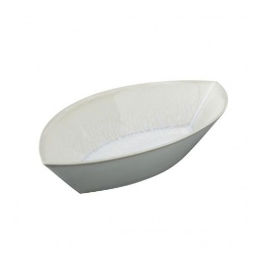 Jars Ceramics Vuelta White Pearl Medium D'Oeuvre Dish