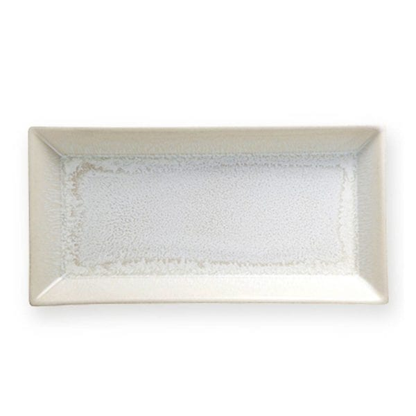 Jars Ceramics Vuelta White Pearl Tray