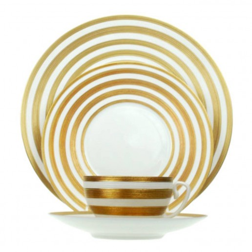 Jean-Louis Coquet Hemisphere Gold Stripe Collection