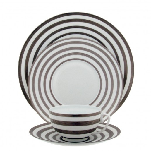 Jean-Louis Coquet Hemisphere Platinum Stripe Collection