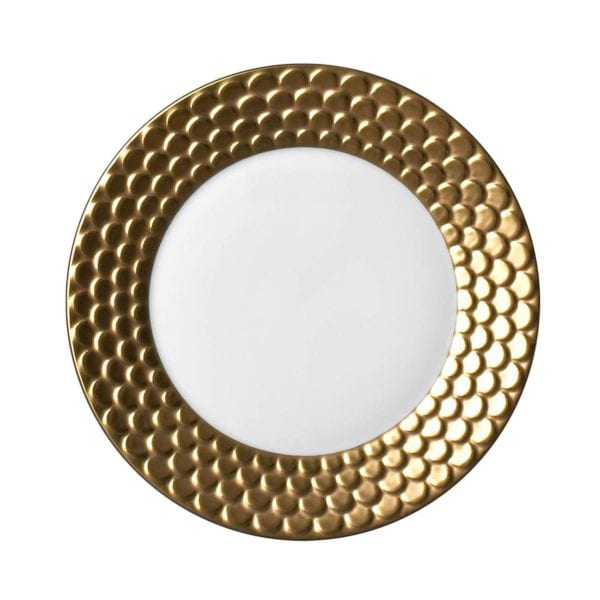 L'Objet Aegean Gold Sculpted Bread and Butter