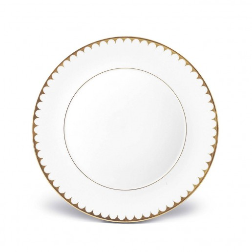 L'Objet Aegean Filet Gold Dinner Plate