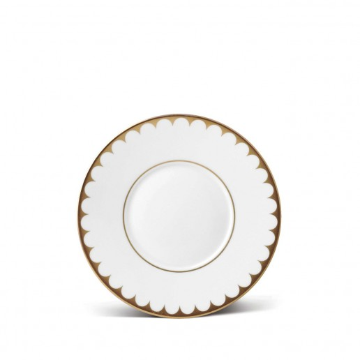L'Objet Aegean Filet Gold Tea Saucer