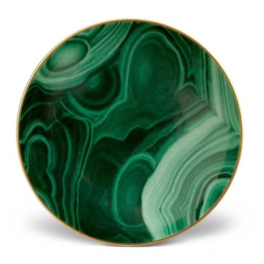 L'Objet Malachite Small Dish