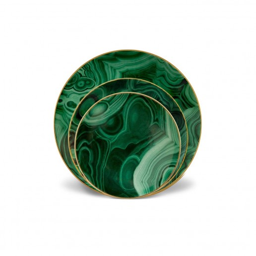 L'Objet Malachite Accessories Collection