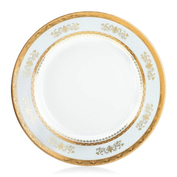 Philippe Deshoulieres Orsay Powder Blue Dinner Plate