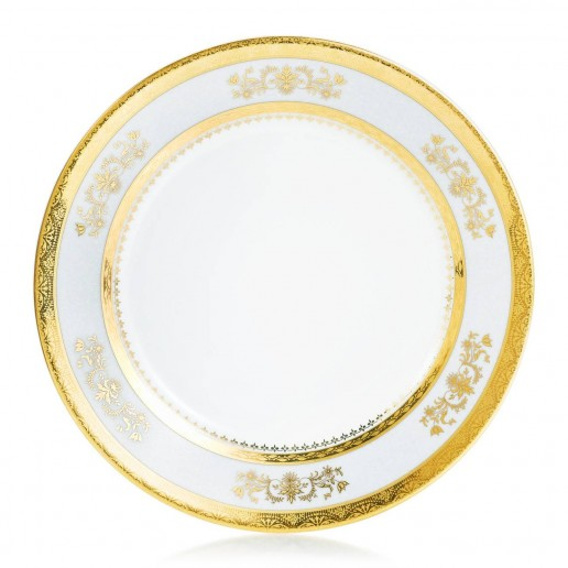 Philippe Deshoulieres Orsay Powder Blue Salad Plate