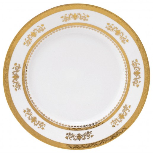 Philippe Deshoulieres Orsay White Dinner Plate