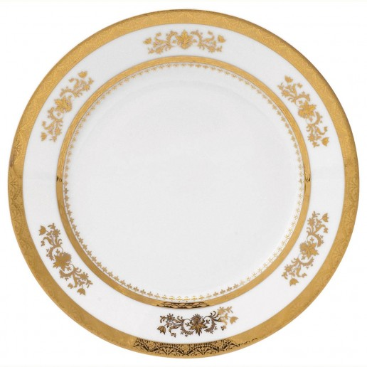 Philippe Deshoulieres Orsay White Salad Plate