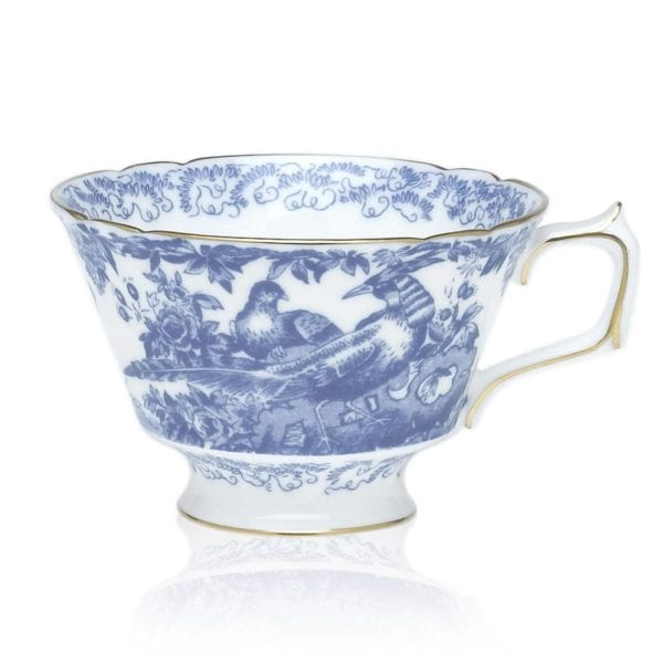 Royal Crown Derby Blue Aves Teacup
