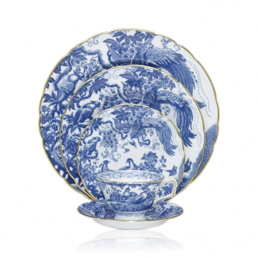 Royal Crown Derby Blue Aves Collection