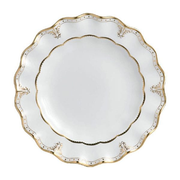 Royal Crown Derby Elizabeth Gold Dinner Plate