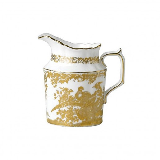 Royal Crown Derby Gold Aves Cream Jug