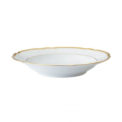 Robert Haviland Colette Gold Rim Soup Bowl