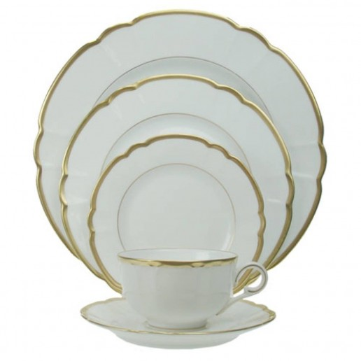 Robert Haviland Colette Gold Dinnerware Collection