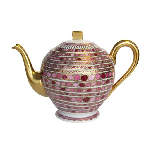 Robert Haviland Syracuse Rose Teapot