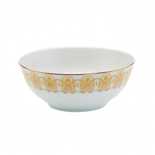 Royal Limoges Oasis White Salad Bowl